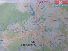 Prodej, stavební parcela, 2500 m2, Žďár nad Sázavou