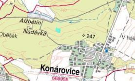 Prodej, les 8963 m2, Konárovice