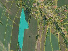 Prodej, pozemek, 72186 m2, Pěčín