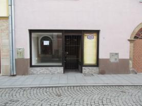 Pronájem, obchodní prostor, 60m2, Stříbro - Benešova ul.