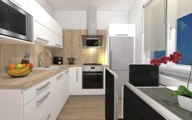 Prodej, byt 2+1, 52 m2, Hlučín, ul. Hornická