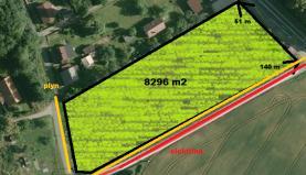 Prodej, pozemek, 8296 m2, Ostrava, ul. Újezdní