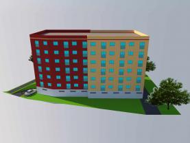 Prodej, nájemní dům, 1048 m2, Ostrava, ul. Lechowiczova