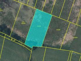 Prodej, pozemek, 2077 m2, Zalužany
