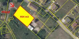 mapa 2 (Prodej, stavební pozemek 954 m2, Česká Lípa - Sosnová), foto 3/7