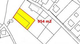 mapa 1 (Prodej, stavební pozemek 954 m2, Česká Lípa - Sosnová), foto 2/7