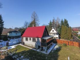 Prodej, chata 5+1, 385 m2, Týnec nad Sázavou - Podělusy
