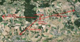 628597 - Prodej, Stavební parcela, 800m2, Třebestovice, okr.Nymburk (Prodej, stavební parcela, 800 m2, Třebestovice), foto 2/5
