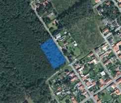 Prodej, stavební parcela - les, 3773 m2, Třebestovice