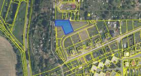 Prodej, pozemek, 1261 m2, Stříbro, ul. Zadní
