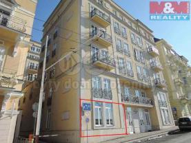 Prodej, obchodní prostory, 72 m2, Mariánské Lázně