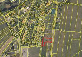 Prodej, stavební parcela, 1377 m2, Zbiroh