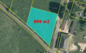mapa (Prodej, stavební pozemek, 899 m2, Skalice u České Lípy), foto 3/9