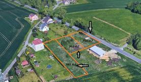 Prodej, pozemek, 716 m2, Markvartovice, Opava