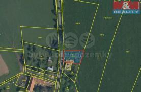 Prodej, pozemek, 674 m2, Březina - Rokycany