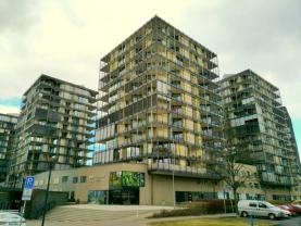 Prodej, byt 2+kk, Praha 3, Pitterova, terasa 21 m2