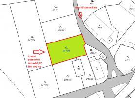 Prodej, pozemek, 792 m2, Nové Město nad Metují, Spy