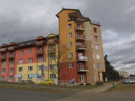 Pronájem, byt 1+1, Plzeň, ul.alej Svobody
