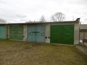 Prodej, garáž, 18 m2, OV, Údlice, ul. Kamenná cesta