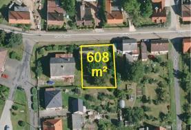 Prodej, zahrada, 608 m2, Netvořice
