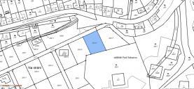 Pozemek_plánek (Prodej, stavební parcela, 795 m2, OV, Libčice nad Vltavou), foto 3/4