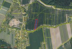 Prodej, stavební pozemek, 3836 m2, Volduchy u Rokycan