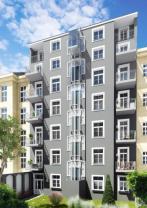 Prodej, byt 1+kk, 43 m2, Praha 7 - Bubeneč, ul. Korunovační