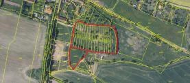 Prodej, pozemek, 15239 m2, Dobev, Velké Nepodřice