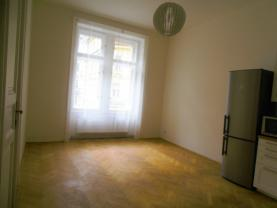 Jídelna (Pronájem, byt 2+1, 100 m2, Praha - Vinohrady, ul. Římská), foto 3/14