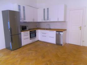 Kuchyňský kout (Pronájem, byt 2+1, 100 m2, Praha - Vinohrady, ul. Římská), foto 2/14