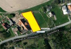 Prodej, stavební pozemek, 1603 m2, Vražné