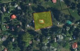 Prodej, stavební pozemek, 1050 m2, Butov