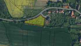 Prodej, stavební pozemek, 2589 m2, Střapole, okres Rokycany