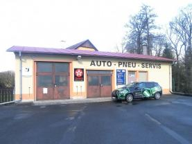 Prodej, autoservis a RD, 1.571 m2, Ostrov, Hroznětínská ul.