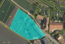 Prodej, pozemek, 1086 m2, Zájezdec