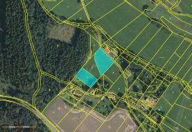Prodej, pozemek, 4227 m2, Stružinec - Tuhaň
