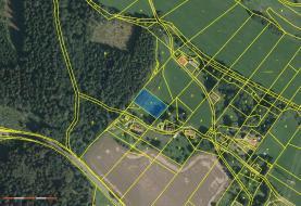 Prodej, pozemek, 1782 m2, Stružinec - Tuhaň
