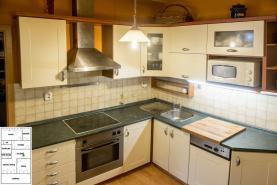 Prodej, byt 3+kk se zahradou, 69,3 m2, Brno - Lesná