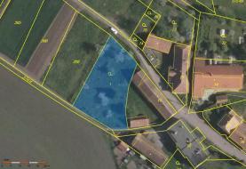 Prodej, pozemek, 850 m2, Zájezdec