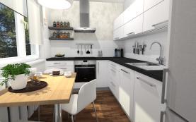 Prodej, byt 3+1, 55 m2, Frýdek - Místek, ul. Frýdlantská