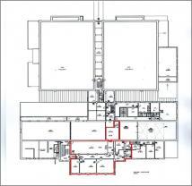 Plánek (Pronájem, fotoateliér, 258 m2, Praha - Hostivař), foto 4/8
