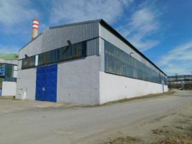 Pronájem, výrobní hala 1332 m2, Kladno