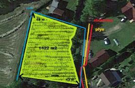 Prodej, pozemek, 1422 m2, Jeseník nad Odrou, Hůrka