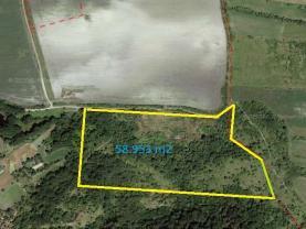 Prodej, stavební pozemek, 58943 m2, Klapý
