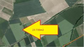 Prodej, pole, 23739 m2, Osek nad Bečvou