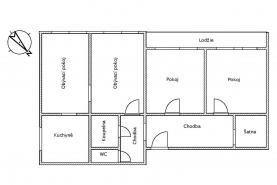 (Prodej, byt 3+1, 82 m2, Praha 4 - Michle), foto 2/30