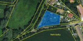 Prodej, stavební pozemek, 1643 m2, Nehvizdy - Nehvízdky