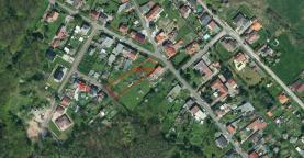Prodej, stavební parcela 1513 m2, Proboštov u Teplic