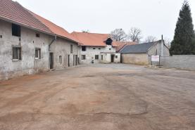 Pronájem, skladový prostor, 1430 m2, Nová Ves u Prahy