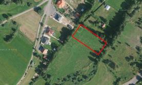 Prodej, pozemek 2847 m2, Vysoká Pec u Bohutína